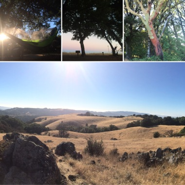 Monte Bello Preserve - Black Mountain Backpack Camp