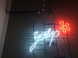 Yelp hosted the meetup; their office is lovely and centrally located! Thanks, Yelp! :)